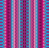 geometric striped pattern