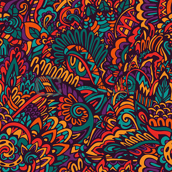 floral fantasy surface pattern