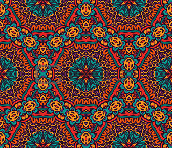 Abstract festive colorful vector ethnic pattern