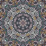 absract seamless geometric mosaic print