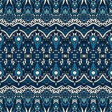 Tracery elegant geometric seamless pattern