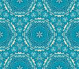 blue mosaic backroound