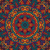 colorful mandala star pattern