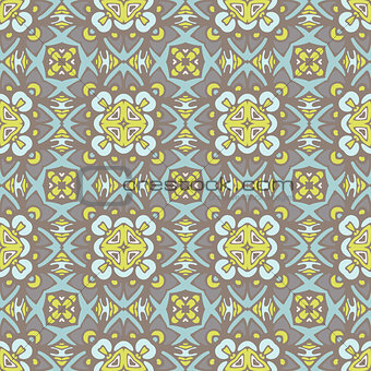 Abstract seamless damask pattern for fabric
