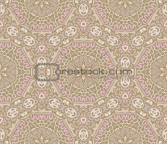Abstract round ethnic mandala background