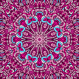 Abstract ethnic mandala pattern ornamental