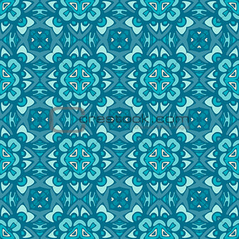 Abstract geometric vintage seamless pattern