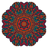 Mandala Round Ornament Pattern.
