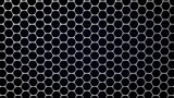 3d illustration of graphene structure.