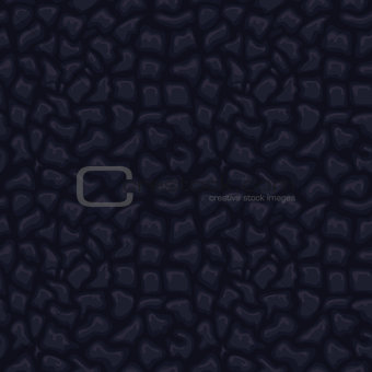 Black seamless leather texture
