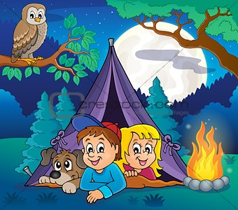 Camping theme image 5
