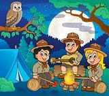 Children scouts theme image 5