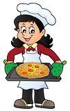 Female cook theme image 6