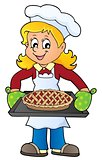 Female cook theme image 8
