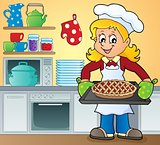 Female cook theme image 9