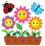Flower box theme image 1