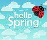 Hello spring theme image 1