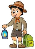 Scout boy theme image 3