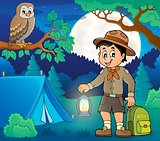 Scout boy theme image 5