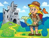 Scout girl theme image 8