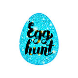 Blue Egg Hunt Greeting