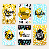 Easter Greetings Trendy Brochures