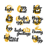 Easter Holiday Hand Drawn Quotes