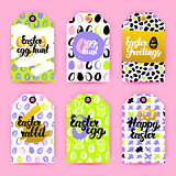 Easter Trendy Gift Labels