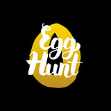 Handwritten Calligraphy Egg Hunt
