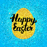 Happy Easter Glitter Design