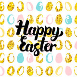 Happy Easter Handwritten Card