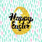 Happy Easter Handwritten Design