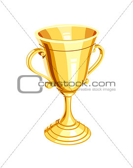 Gold champion cup