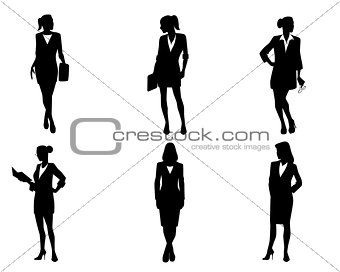 Six bussineswomen set