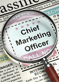 We're Hiring Chief Marketing Officer. 3D.