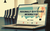 Personally Identifiable Information Concept. 3D.