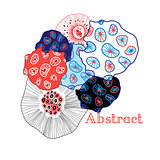 Bright abstract vector elements
