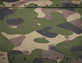 Army camouflage metal armor with rivets background 3d illustration