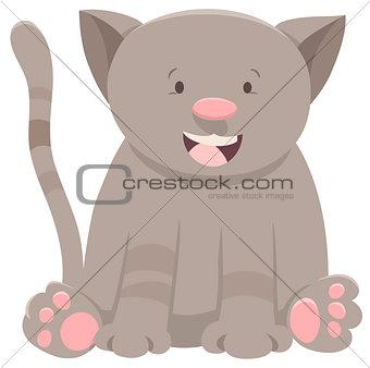 kitten or cat cartoon character