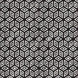 Hand Drawn Line Lattice. Abstract Freehand Background Design. Vector Seamless Pattern.