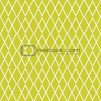 Tile yellow green and white vector pattern
