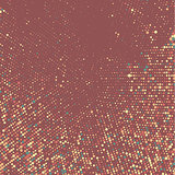 Halftone dots background
