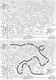 Jellyfish maze