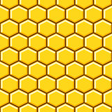 Honeycomb pattern cells vector background.