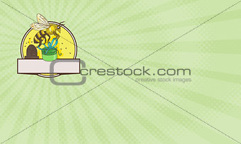 Bee Gift Shop Business card