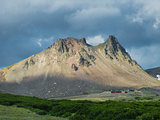 Panorama view to Camel mountain, Kamchatka peninsula, Russia