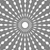 Abstract circle rotation pattern.