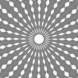 Abstract circle rotation pattern.