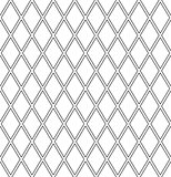 Seamless diamonds lattice pattern.