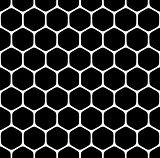 Seamless hexagons pattern.